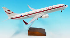 """NEW 1/100 Qantas Boeing 737-800 """"Retro Roo 2"""" VH-VXQ with Landing Gear LIMITED"""