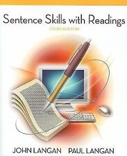 Sentence Skills with Readings, Langan, John, Acceptable Book