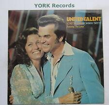 LORETTA LYNN & CONWAY TWITTY - United Talent - Ex Con LP Record MCA MCF 2764