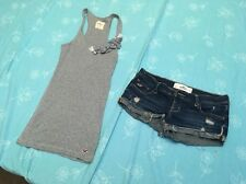 Set Of 2 Hollister Top Size UK S And Shorts UK W26