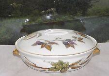 Royal Worcester Evesham  Lidded Tureen Shape 22 Size 4 19cm Gilt Trim