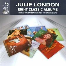 NEW Eight Classic Albums [box] * by Julie London CD (CD) Free P&H