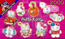 HELLO KITTY toys (complete set of 9) - McD McDonald's/Sanrio (2000) *NIOP