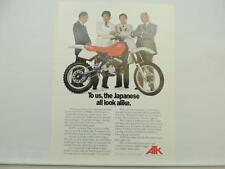 Vintage ATK Dirt Bike Motocross Motorcycle Dealer Brochure L6686