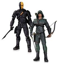 "DC Collectibles FRECCIA Oliver Queen e Deathstroke 7"" Action Figure, 2-Pack"