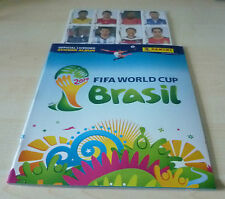 Panini World Cup Brazil 2014 Update Set of 71 Extra Stickers + empty Album MINT