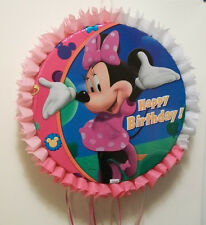 Minnie Mouse Happy Birthday Pull String or Hit Pinata