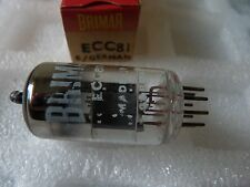 ECC81 BRIMAR MADE IN GERMANY  NEW OLD STOCK TUBE VALVES 1 pc  J17A