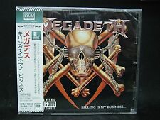MEGADETH Killing Is My Business...And Business Is Good ! + 3 JAPAN BSCD2 CD