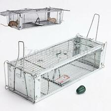 Rat Cage Trap Snap  Humane Safe Mouse Animal Catcher Rodent Live Indoor Outdoor