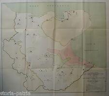 PUGLIA_AGRARIA_BONIFICA_CAPITANATA_CARTOGRAFIA D'EPOCA_IMPONENTE ILLUSTRATO_1933
