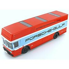 Schuco 1965 Mercedes Benz Transporter Porsche Gulf Team 1:18 LE 500pcs New Item!