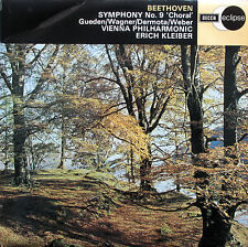 ECS 501 Beethoven Symphony 9 Choral Erich Kleiber Decca Eclipse NM/VG