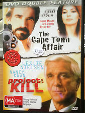 The Cape Town Affair & Project Kill -Double feature (DVD, 2002)  * USED *