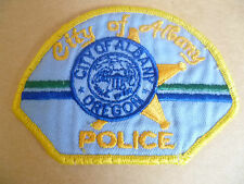 Patches: CITY OF ALBANY OREGON USA POLICE PATCH (NEW* apx. 7.5x10.5 cm)