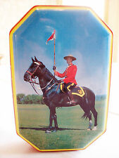 Vintage Blue Bird Harry Vincent Limited Canadian Mounted Policeman Candy Tin