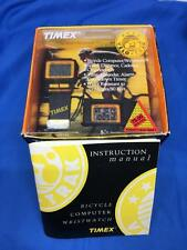 Rare Timex Velo-Trak Bicycle Cadence Watch New Old Stock in Box Nice!