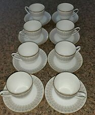 16pc Hutschenreuther Hohenberg CM Olivia China Demitasse cup and Saucer Germany