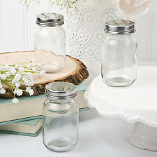 Perfectly Plain Glass mason jar 1 Pc {FC3210}