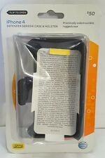 DEFENDER SERIES CASE & HOLSTER for iPhone 4 OTTER NEW Sealed