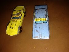 Marx Toys Mercury Diecast Car And One Other  Circa 1960