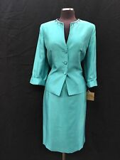"""KASPER SKIRT SUIT/NEW WITH TAG/RETAIL$240/SIZE 14/LINED/SKIRT LENGTH 25""""/"""