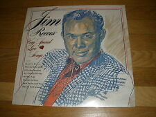 JIM REEVES very special love songs LP Record - Sealed