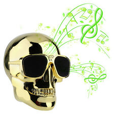 Cool Fashion Mini Skull Shape Portable Bluetooth Audio Wireless Speaker