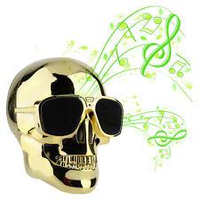 Cool Fashion Mini Skull Shape Portable Bluetooth Audio Wireless Speaker