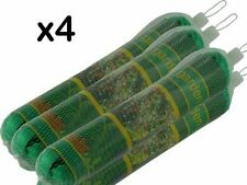 4 pack ANTI BIRD POND NET NETTING PROTECTION PLANTS VEG FRUIT GARDEN FINE MESH