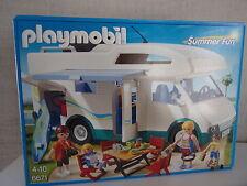 Playmobil Verano Fun 6671 autocaravana familiar - nuevo y emb. orig.