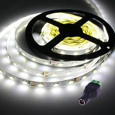 BOBINA STRISCIA LED BIANCA FREDDA SMD 5630 300 LED 5 METRI STRIP NON IMPERMEABIL