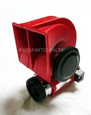 Nautilus SUPER LOUD 12v Red Twin Auto Machine Air Horn 139dB Universal ATV