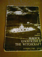 Jack Parsons Magick Gnostcism and Witchcraft Booklet Rare Aleister Crowley