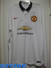 BNWT Manchester United 2014/15 Long-Sleeve Away Shirt XL