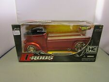 JADA 1/24 HOBBY EXCLUSIVE D RODS CANDY RED/BLACK 1947 FORD COE *ISSUE*