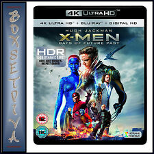 X-MEN DAYS OF FUTURE PAST  *BRAND NEW 4K ULTRA HD BLURAY + DIGITAL COPY *** *