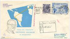 AEROGRAMMA GRONCHI IN ARGENTINA 1961 - PREZZO SVENDITA...!!!