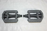 A Pair of 9/16th Comfort Bicycle Bike Pedals with Grippy Rubberized Surface