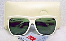 "VINTAGE RAY-BAN B&L *NOS RARE WAYFARER ""SHELBY"" IVORY WO354 *NEW SUNGLASSES&CASE"