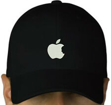 APPLE MAC EMBROIDERED CAP B/W HAT STEVE JOBS OSX IPHONE GEEK OS