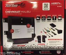 CHEVROLET MALIBU 2014 - UP W FACTORY COLOR SCREEN DOUBLE DIN RADIO INSTALL KIT