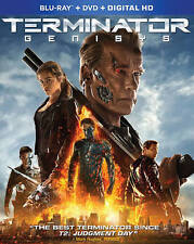 Terminator Genisys (Blu-ray/DVD, 2-Disc Set) NEW/SEALED Arnold Schwarzenegger