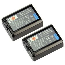 DSTE 2x NP-FW50 Rechargeable Li-ion Battery for Sony Alpha 7 a7 Alpha 7R a7R ...