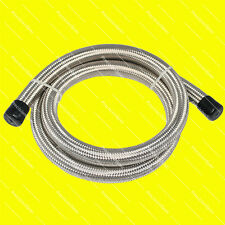 AN4 4N Stainless Steel Double Braided Hose x 1 Meter 3.3FT W/ 1Yr Warranty