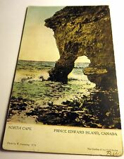 Color Postcard of North Cape on Prince Edward Island in Canada, 1907 Postmark