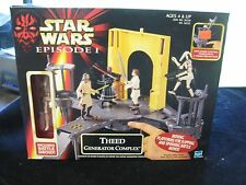 1999 Star Wars Episode 1 Theed Generator Complex w/ Battle Droid NIB
