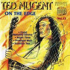 "TED NUGENT ""On The Edge"" CD 14 Tracks NEU & OVP Cosmus DSB"