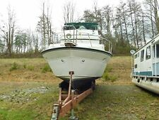 MARINETTE 39 DOUBLE CABIN YACHT-TWIN 454 CHEVYS-OVERALL A VERY SOUND VESSEL L@@K