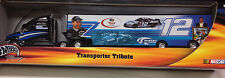 HOT WHEELS RYAN NEWMAN PENSKE RACING TRAILER RIG NASCAR C-40